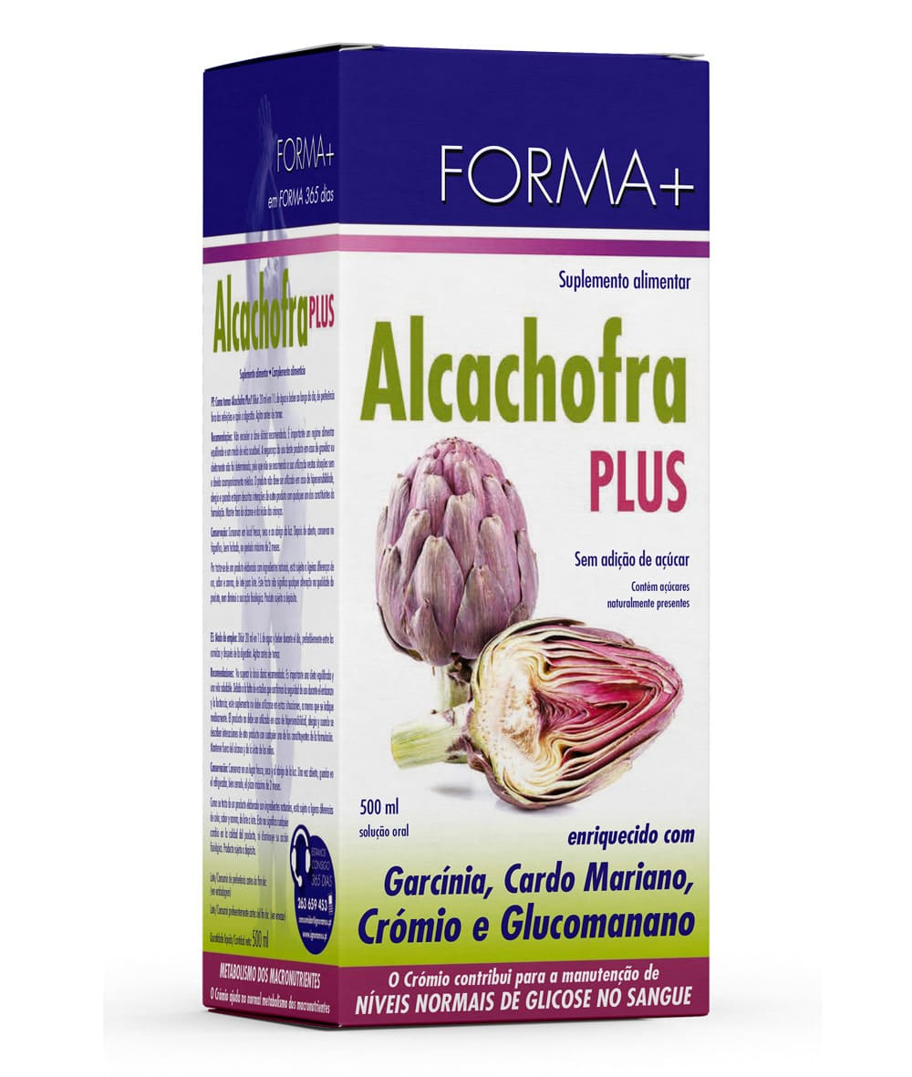 alcachofra plus líquido 500ml
