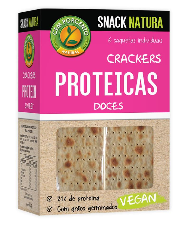 crackers proteicas doces 150g