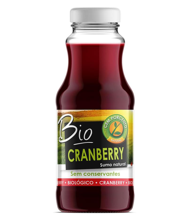 sumo natural de cranberry bio 200ml